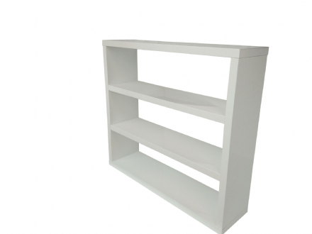 Puro Bookcase - Cream